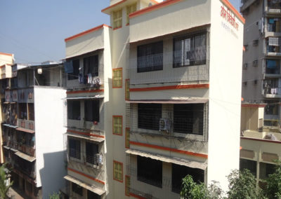 Om Triveni CHS Nerul Plastering & Painting work